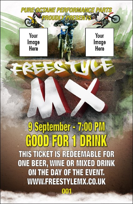Freestyle MX Drink Ticket