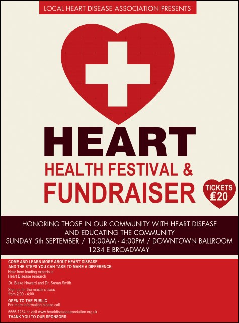 Heart Health Flyer Product Front